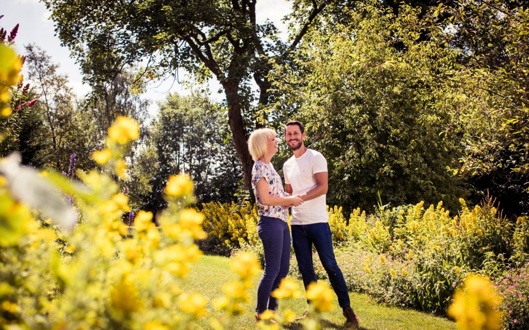 Engagement shoot in the Yorkshire Dales