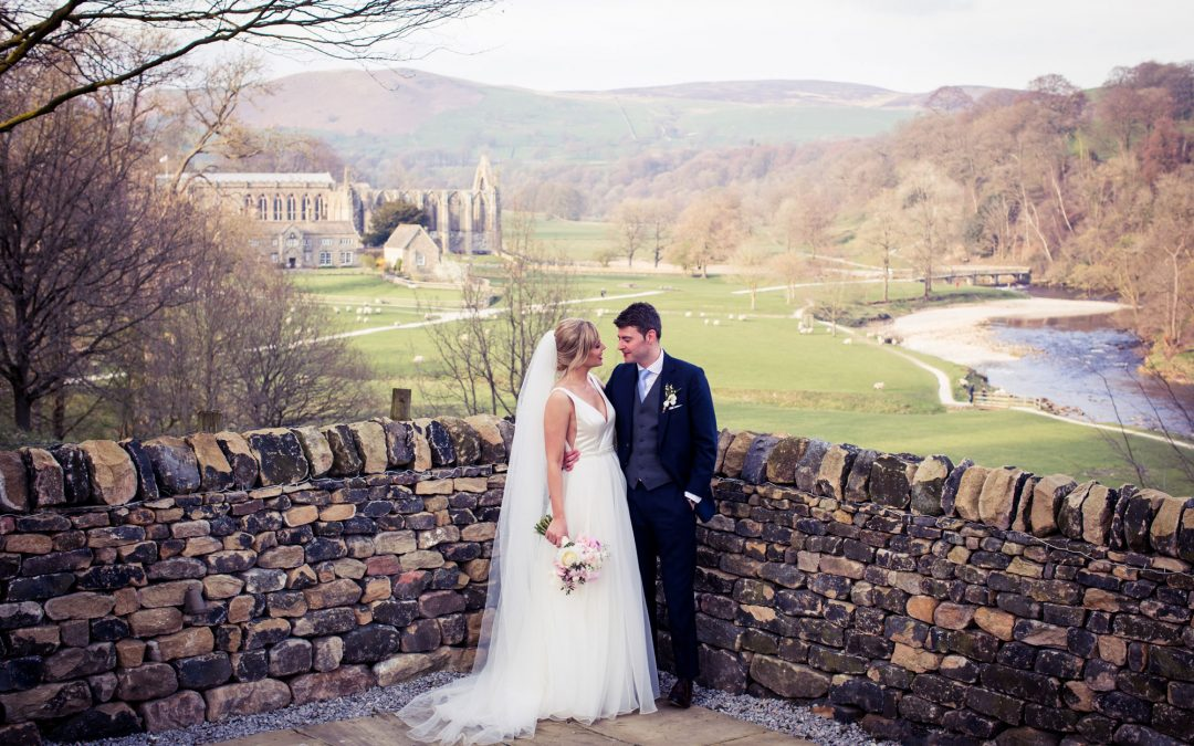 Tithe Barn Bolton Abbey Wedding Photography: Jo & Dan's stunning spring wedding day in North Yorkshire.