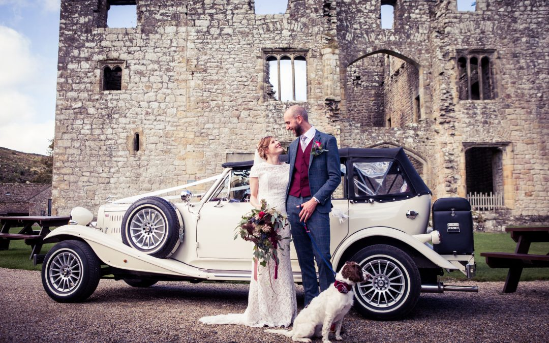 Wedding photography at The Priests House, Barden Tower: Laura & Patrick's big day!